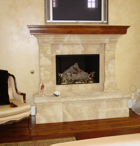 air cooling fireplace heating state